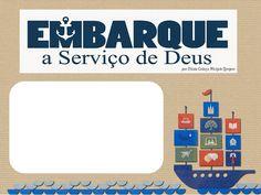 """As Tontas Vão Ao Céu: Cartões em Branco - """"Embarcai no Serviço de Deus"""" ..."""