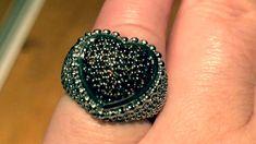 #diamondrings #fancydiamond #diamond #rare Ring Video, Druzy Ring, Diamond Rings, Make It Yourself, Red, Accessories, Jewelry, Jewlery, Jewerly