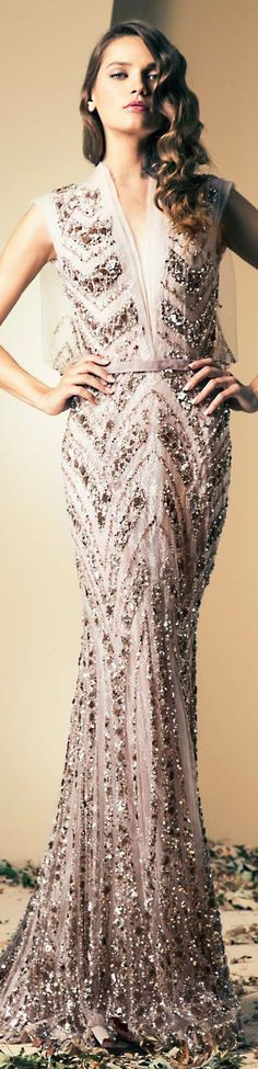 Ziad Nakad Couture | Fall/Winter 2014 #gown #dress #elegant <3