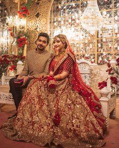 Indian Bridal Photos, Indian Bridal Fashion, Pakistani Wedding Dresses, Bridal Pics, Punjabi Fashion, Pakistani Outfits, Women's Fashion, Desi Wedding Dresses, Asian Bridal Dresses