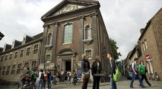 The impressive architecture of the SSC, your home away form home. #travel #europe #studyabroad #netherlands #maastricht #CES