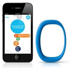 Larklife - Fitness band you wear as a bracelet so you can track your activity + get tips on how to make changes!