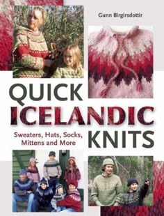 Quick Icelandic Knits: Sweaters, Hats, Socks, Mittens and More by Gunn Birgirsdottir.