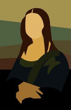 Síntesis by Pepo Pop Art, Mona Lisa, Digital Art Girl, Arte Pop, Art Plastique, Canvas Artwork, Portrait Art, Graphic Illustration, Art Lessons