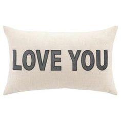Love You Pillow