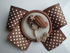 broche fimo |Polymer Clay, masa flexible, cold porcelain, masa francesa, porcelana fria