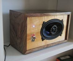 Building a bluetooth speaker is not a very complicated project, and you can get really creative with the design and use any material you have on hand. I decided to use walnut and cherry for the box, however any wood would work.