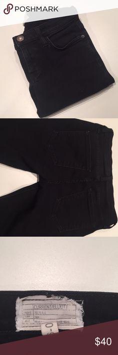"Current and Elliott skinny black jeans Waist 26"" Inseam 26"" Length 34"" Current/Elliott Jeans Skinny"