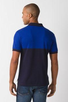 #Lacoste Short Sleeve #Color Block Pique Polo Shirt