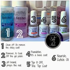 Nail Career Education Gel Polish near Planet Nails Gel Kit Price outside Nail Care Kit Boots this Kitchen Nails Trinoma Contact Number by Acrylic Nail Kits Full Set For Beginners Gel Nail Kit, Gel Manicure At Home, Gel Uv, Nail Manicure, Gelish Nail Colours, Gelish Nails, Shellac, Uv Gel Nails, Gel Nail Designs