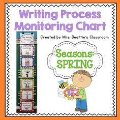 Spring Writing Process Chart