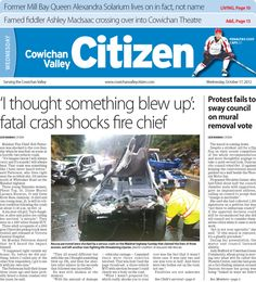 Citizen Front Page Oct. 17, 2012