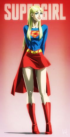 Supergirl by Kit-Kit-Kit