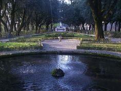 The Frontone Gardens in Perugia--great for a run!