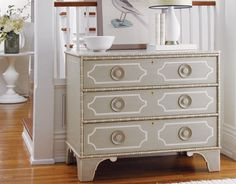 get a craigslist dresser and paint it -for front entryway