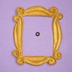 Who could forget Monicas iconic yellow peephole frame? Get one of your own to hang on your apartment door. :). Will be totally cool.  The lovely and Perfect Gift for who loves FRIENDS TV Show!!!  100% Handmade. It is a beautifull reproduction made of special resin and hand painted.  You can hang it as soon as you receive it, because the frame has already the best double side tape quality so you don't need to make any holes in your door.  The best quality you can find. It will last forever…
