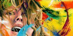 "Johanne Cullen ~ What's Art Doc? ~ Oil on canvas, 12x34"""