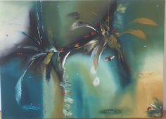 Ladybug. oil on canvas