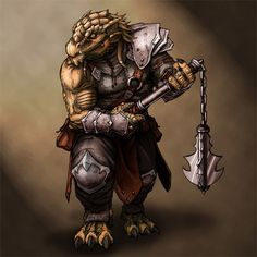 Dragonborn Fighter Knight