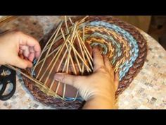 A shelf with a pocket. Weaving a pocket. Part 2 - YouTube