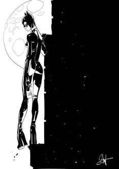 Gatúbela en juerga de sábado por la noche. Una ilustración concebida por Otto Schmidt.