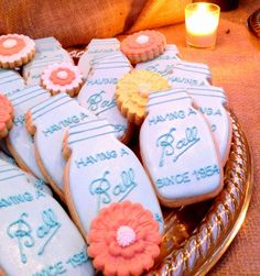 Love this ball jar cookie idea for birthdays