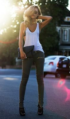 45 Edgy fashion outfits look young forever - latest fashion trends . - 45 Edgy fashion outfits look young forever – latest fashion trends - Edgy Outfits, Mode Outfits, Fashion Outfits, Womens Fashion, Fashion Ideas, Latest Outfits, Ladies Fashion, Clubbing Outfits, Girl Fashion