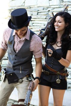 Rob & Stacys Steampunk wedding | Flickr - Photo Sharing! Reconsidering our military costumes!!!