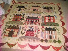 Home Sweet Home Quilt- pattern by Blackbird Designs