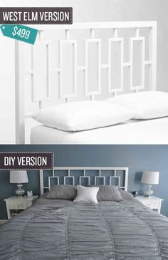 Build A Rectangular Headboard.