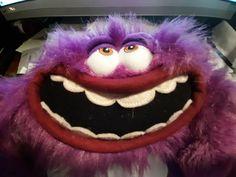 "ART from Monsters University Purple Monster Poseable 12"" Plush toy Disney Pixar  #DisneyStore"