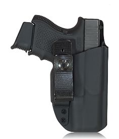 Skinny Rig Custom Kydex holster shown with a Glock 26 and our standard soft loop setup.