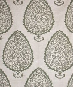 Leaf in Moss from Katie Ridder #fabric #green
