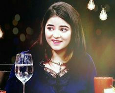 with cute smile Zaira Wasim, Yellow Floral Dress, Bollywood Celebrities, Indian Actresses, Cute Girls, Crushes, Like4like, Celebs, Actors