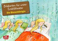 Bildkarten für unser Erzähltheater: Die Bienenkönigin Kamishibai Bildkartenset. Entdecken. Erzählen. Begreifen. von Brüder Grimm http://www.amazon.de/dp/B00H8Q2K8Y/ref=cm_sw_r_pi_dp_wmPkvb0Y5KWM1