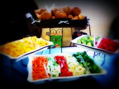 """catering a salad bar 
