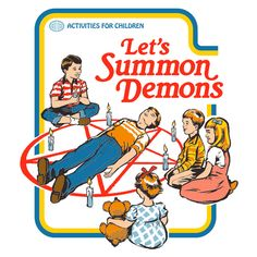 Lets Summon Demons de Steven Rhodes - Camisetas Pampling.com