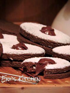 Eni´s Kitchen: ¡ Sandwich de galletas de chocolate con Nutella !