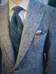 Tweed and tartan, the Scottish way