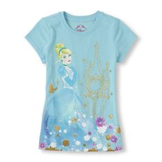 A classic Cinderella look for your princess!
