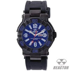 Reactor Watches MX BLACK LIMITED EDITION with Blue Face