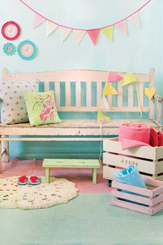 ShabbyPassion: A joyful home: Neon and Pastel Touches