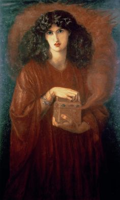 Pandora by Dante Gabriel Rossetti. What I would give to see all his work in one room!