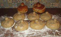 Chleba naszego: Chleb do żurku. Hot Dog, Muffin, Polish, Dishes, Breakfast, Food, Morning Coffee, Vitreous Enamel, Tablewares