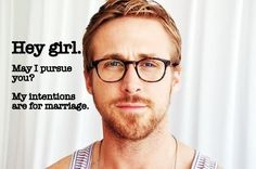 Because you asked so politely, yes. Yes you can, Ryan Gosling.
