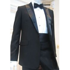Classic Black Wedding Best Man Prom Business Dress Suits Tuxedos Tux SKU-123029