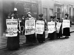 """""""It's 87 years since women won the right to vote in the UK. Use our lesson ideas – including role play and protest songs – to mark the occasion"""" Ideas for primary and secondary students. Women In History, British History, London History, Family History, Les Suffragettes, Emmeline Pankhurst, Protest Songs, Protest Posters, Makeup Trends"""