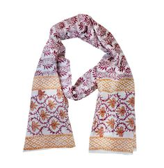 Cotton Blockprinted Scarf