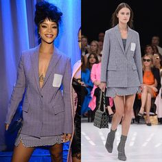 Rihanna's Take on the Spring 2015 Christian Dior Suit