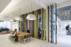 British interior studio Morey Smithhas designedthe new headquarters of online fashion retailerAsos,in London. The design includes a flexible events space, a showcase/press area, fashion themed meeting rooms, open-plan offices and ... Read More